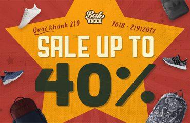 Balo VNXK SALE UP TO 40% OFF Mừng Quốc Khánh 2/9 - HOT