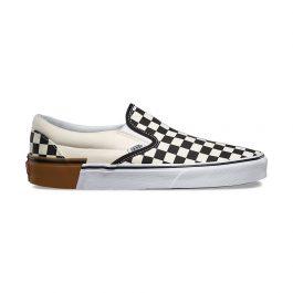 Giày Vans Slip-On Chính Hãng - Vans Gum Block Checkerboard Slip-On