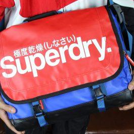 Cặp Superdry Super Pop Tarp Messenger Bag Chính Hãng Tp.HCM| BaloVNXK | Bảo Hành 365 Ngày