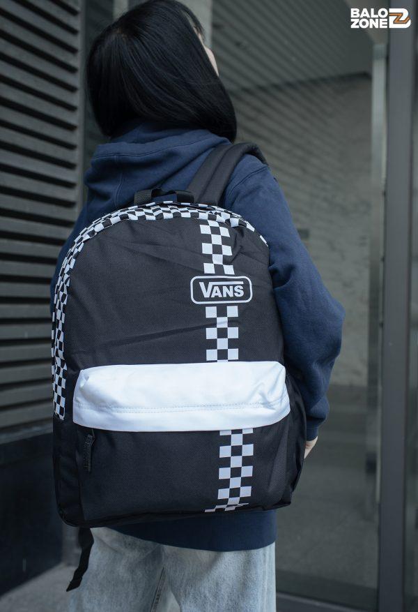 Balo Vans Realm Checkerboard Backpack Chính Hãng Tp.Hcm   BaloVNXK  Vans Việt Nam   Bảo Hành 365 Ngày
