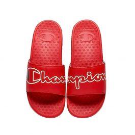 Champion Split Script Slide | The Sneaker House | Dép Chính Hãng