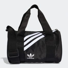 Mini Nylon Duffel Bag Black | BaloZone | Túi Mini Adidas | Giá Sale