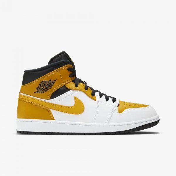 "Air Jordan 1 Mid ""University Gold""   The Sneaker House   Jordan Sneakers Au"