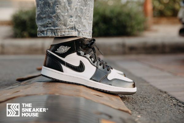 "Air Jordan 1 Mid ""Carbon Fiber"" | The Sneaker House | Nike Air Jordan"
