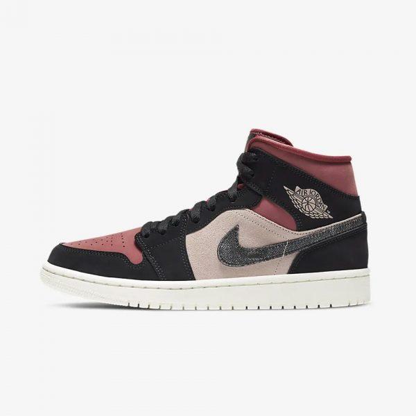 """Air Jordan 1 Mid """"Canyon Rust""""   The Sneaker House   Air Jordan 1"""