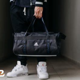 4 ATHLTS Duffel Bag | BaloZone | Adidas | Túi Trống Chính Hãng