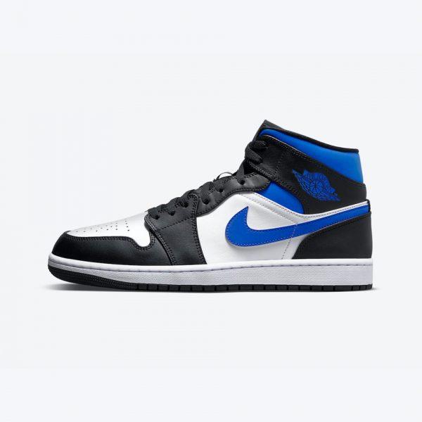 "Air Jordan 1 Mid ""Royal""   The Sneaker House   Nike Air Jordan   Authentic"